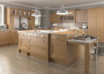 traditional kitchen 2